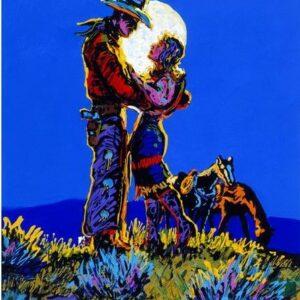 Pirnie art of Lovers in Moonlight